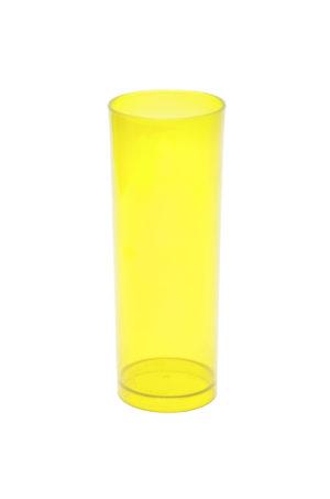 LONG DRINK 320 ML AMARELO TRANSLUCIDO (CX80)