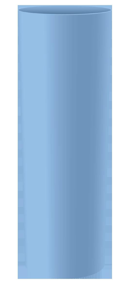 LONG DRINK 320 ML AZUL BEBE SOLIDO (CX80)