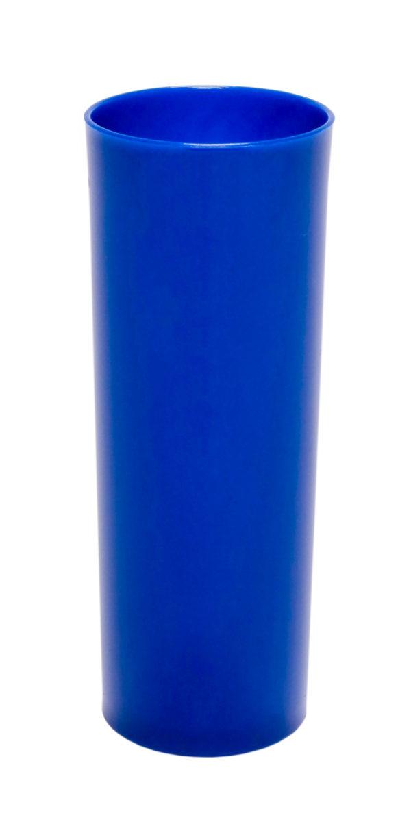 LONG DRINK 320 ML AZUL SOLIDO (CX80)