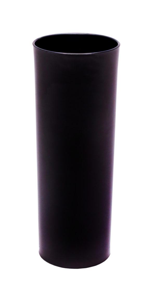 LONG DRINK 320 ML PRETO SOLIDO (CX80)
