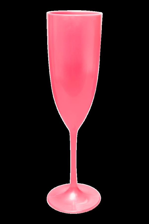TACA GLAMOUR 210 ML ROSE PEROLA (CX60)