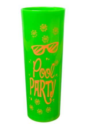 LONG DRINK VIBES 320 ML LIMAO NEON POOL PARTY (CX80)