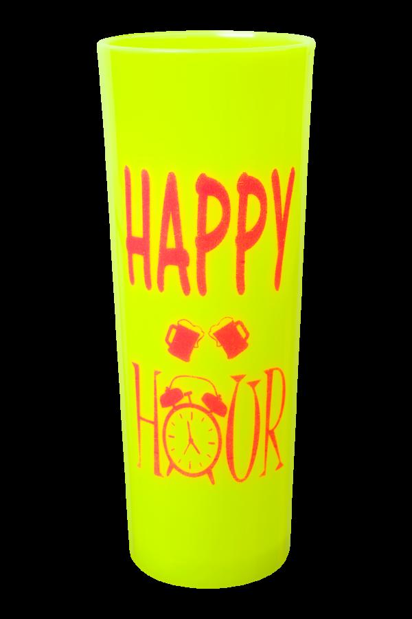 LONG DRINK VIBES 320 ML MELAO NEON HAPPY HOUR (CX80)