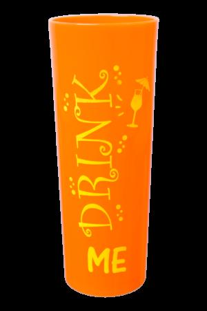 LONG DRINK VIBES 320 ML TANGERINA NEON DRINK ME (CX80)
