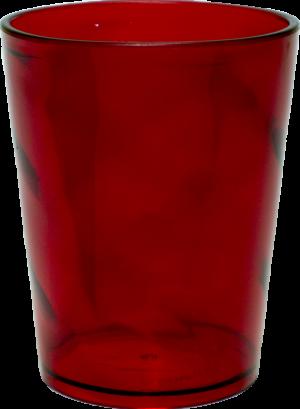 COPO MIX VERMELHO TRANSLUCIDO 500ML (CX60)