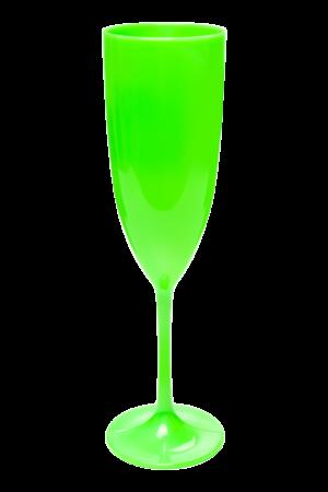 TACA GLAMOUR 210 ML LIMAO NEON (CX60)