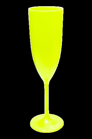 TACA GLAMOUR 210 ML MELAO NEON (CX60)